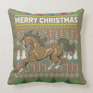 Wildlife Horse Merry Christmas