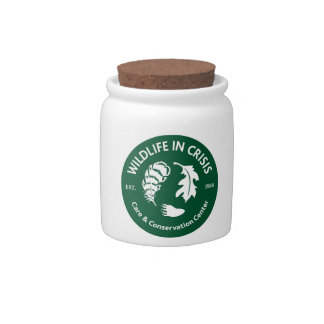 Wildlife in Crisis Candy Jars