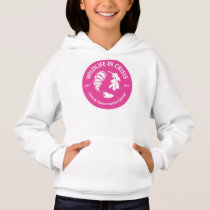 Wildlife in Crisis girls hoodie
