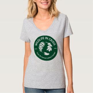 Wildlife in Crisis gray t-shirt