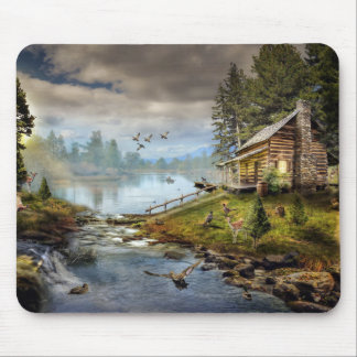 Wildlife Landscape Mouse Pad