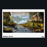 """Wildlife Landscape Wall Decal<br><div class=""""desc"""">Wildlife Landscape</div>"""
