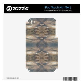 Wildlife Leopard Wild Animal Pattern Brown Black iPod Touch 4G Decal