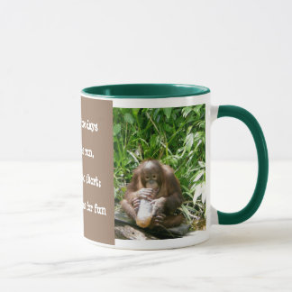 Wildlife Lessons: Life's short, have fun Mug