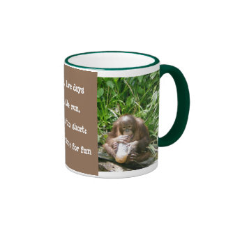 Wildlife Lessons: Life's short, have fun Ringer Coffee Mug