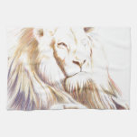Wildlife: Lion Picture Kitchen Towels