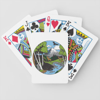 Wildlife Lover Bicycle Poker Cards