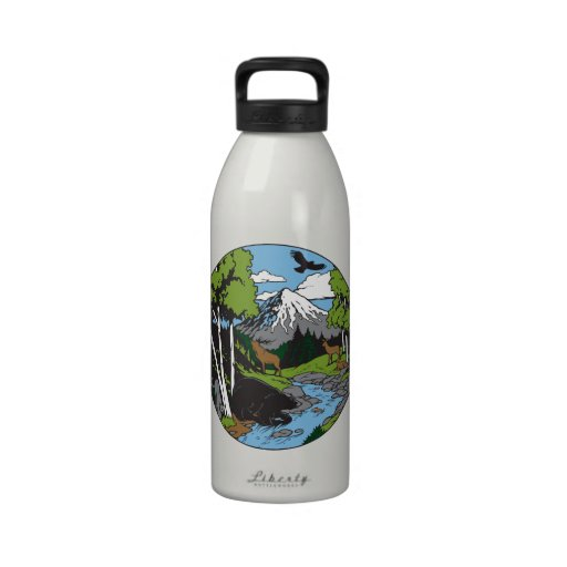 Wildlife Lover Water Bottle