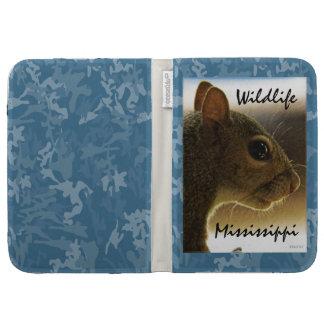 Wildlife Mississippi Gray Squirrel Kindle Case