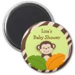 Wildlife Monkey Jungle Party Favor Magnets