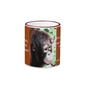 Wildlife Nature Conservation Ringer Coffee Mug