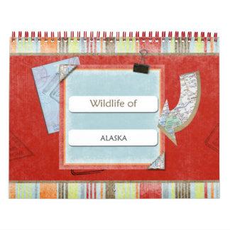 Wildlife Of Alaska 2014-2015 Calendar