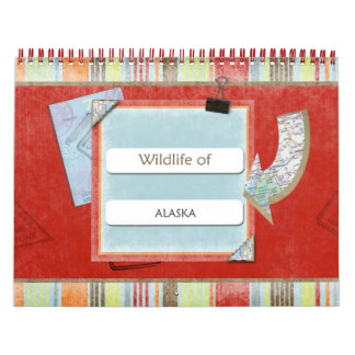 Wildlife Of Alaska 2014-2015 Calendar