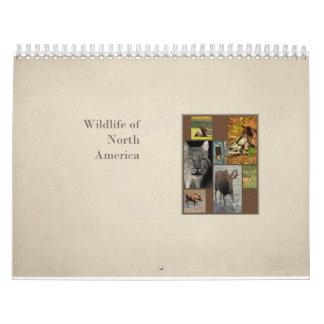 Wildlife of North America Calendar