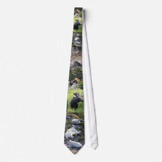 Wildlife of north America Neck Tie