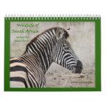 Wildlife of South Africa Calendar