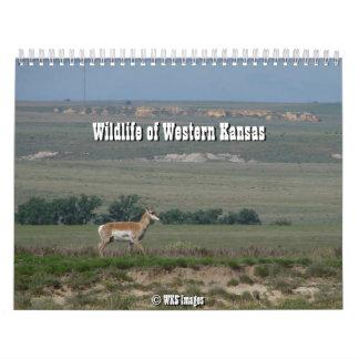Wildlife of Western Kansas Calendar