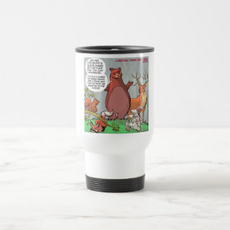 Wildlife Outlook Of Climate Change Funny Travel Mug