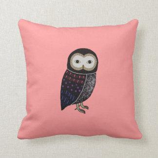 Wildlife Owl Woodland Cute Funny Wild Owl Graphic Throw Pillow