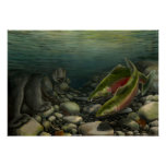 Wildlife Painting Canadian Nature Painting Poster
