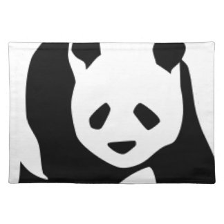WILDLIFE PANDER CLOTH PLACEMAT