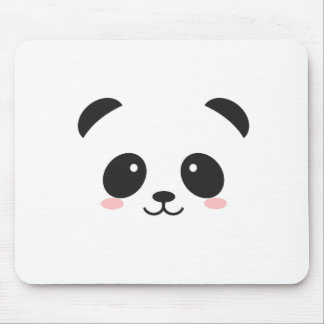 WILDLIFE PANDER FACE MOUSE PAD