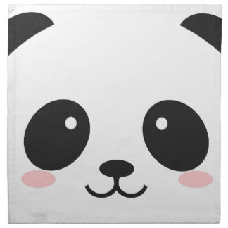 WILDLIFE PANDER FACE NAPKIN
