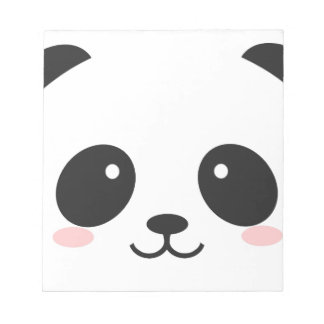 WILDLIFE PANDER FACE NOTEPAD