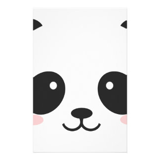 WILDLIFE PANDER FACE STATIONERY