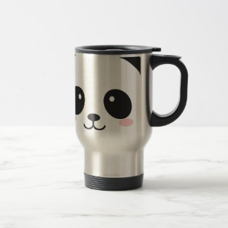 WILDLIFE PANDER FACE TRAVEL MUG
