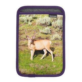Wildlife Photography of Yellowstone National Park iPad Mini Sleeve