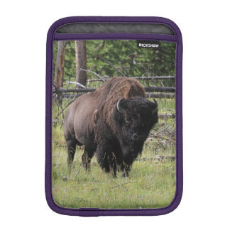 Wildlife Photography of Yellowstone National Park iPad Mini Sleeve