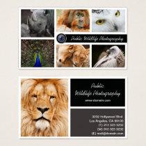 Wildlife Photography Photographer Business Card