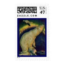 WILDLIFE ~ POLAR BEAR Stamps Match Invitations