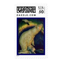 WILDLIFE ~ POLAR BEAR Stamps Match Invitations