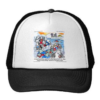 Wildlife & Politics In Alaska Funny Gifts & Tees Trucker Hat