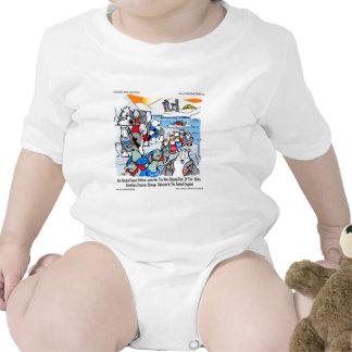 Wildlife & Politics In Alaska Funny Gifts & Tees Baby Creeper