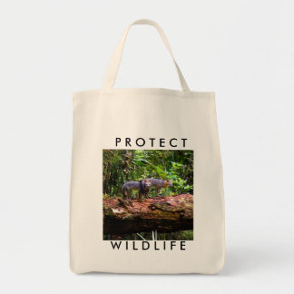 WILDLIFE PROTECTION TOTE BAG