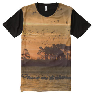 Wildlife Refuge All-Over Print T-shirt