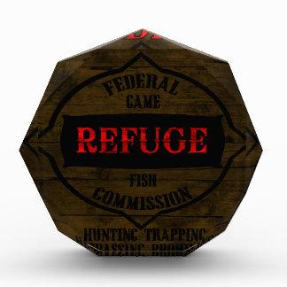 Wildlife Refuge Acrylic Award