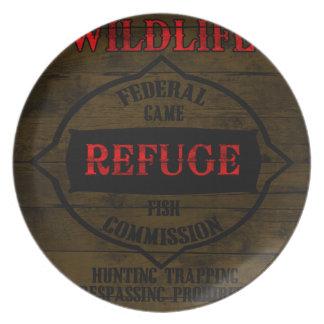 Wildlife Refuge Dinner Plate