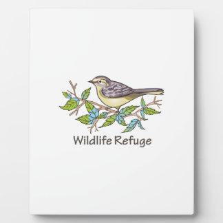 WILDLIFE REFUGE PLAQUE