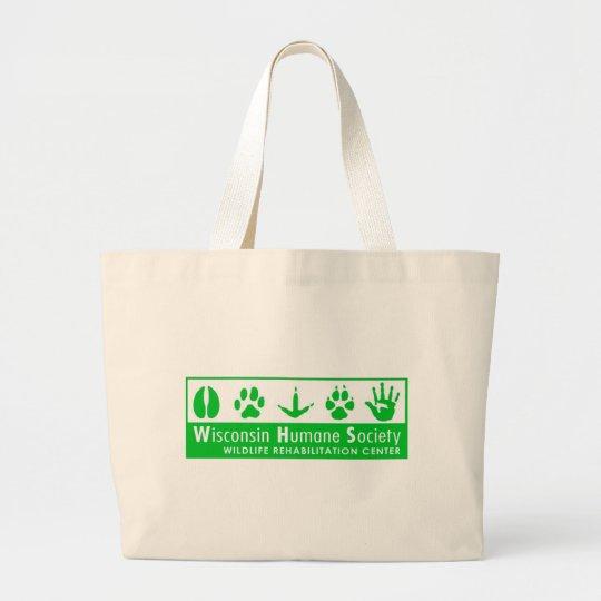 Wildlife Rehabilitation Center Logo Large Tote Bag