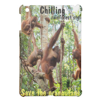 Wildlife Style Chilling iPad Mini Cover