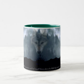 Wildlife Supporter & Animal-lover Gift Items Two-Tone Coffee Mug