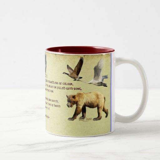 Wildlife Supporter Animals Educational Mug