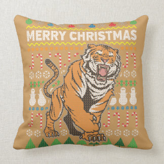 Wildlife Tiger Merry Christmas
