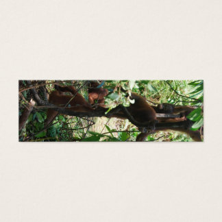 Wildlife Totem Pole Mini Business Card