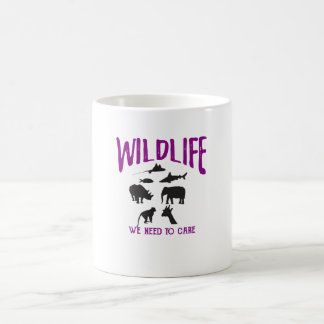 Wildlife We need to care Inspirational Mug
