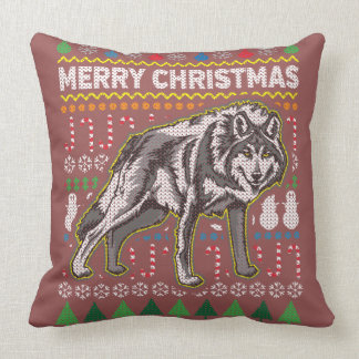 Wildlife Wolf Merry Christmas